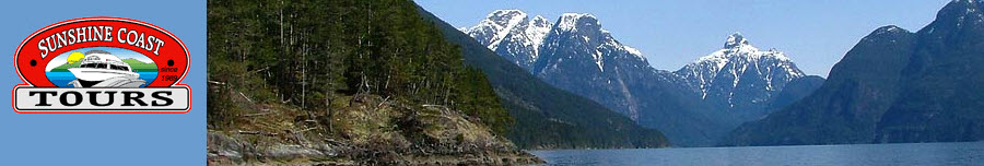 Sunshine Coast Tours - Sightseeing tours to Princess Louise Inlet and Skookumchuck Narrows